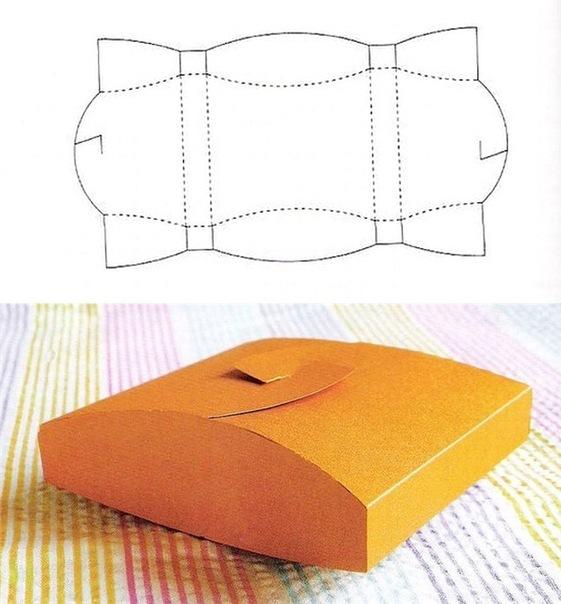 Схемы для подарочных коробочек
