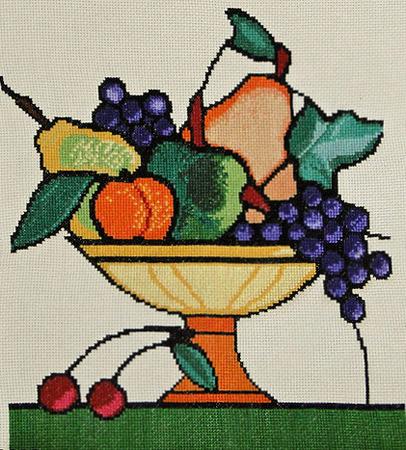 "Схема "" Ваза с фруктами "" из"